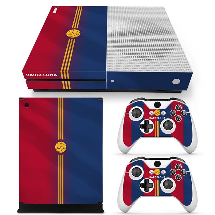Barcelona Premium - Xbox One S Console Skins