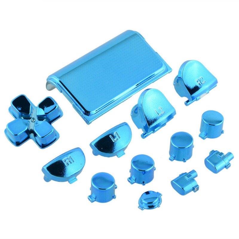 Hemelsblauw Chrome (GEN 4, 5) - PS4 Controller Buttons