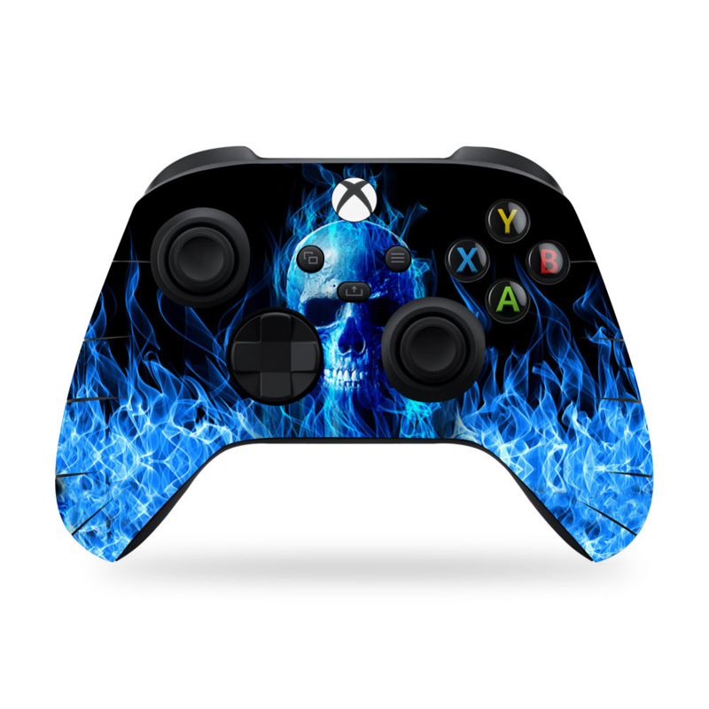 Xbox Series Controller Skins - Fire Skull