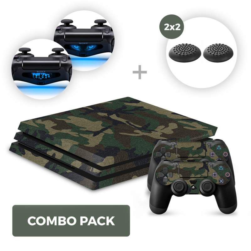 Army Camo Skins Bundle - PS4 Pro Combo Packs