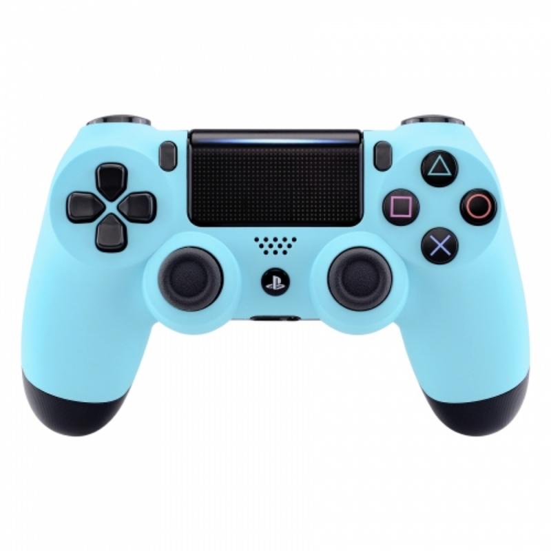Sony DualShock 4 Controller PS4 V2 - Soft Touch Hemelsblauw Custom