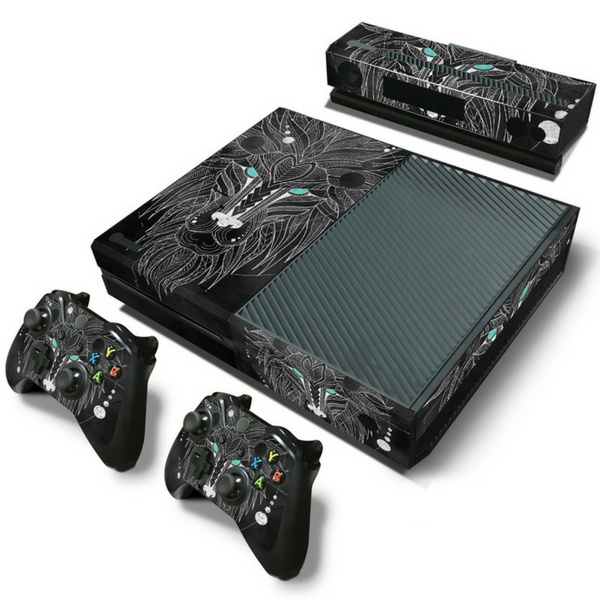 Geometric Lion - Xbox One Console Skins