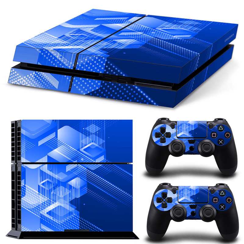 Shapes / Blue - PS4 Console Skins