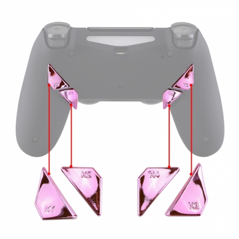 Chrome Roze - PS4 eSports Back Buttons