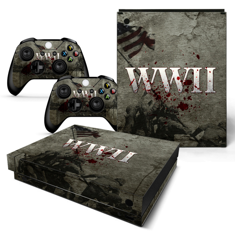 WWII - Xbox One X Console Skins