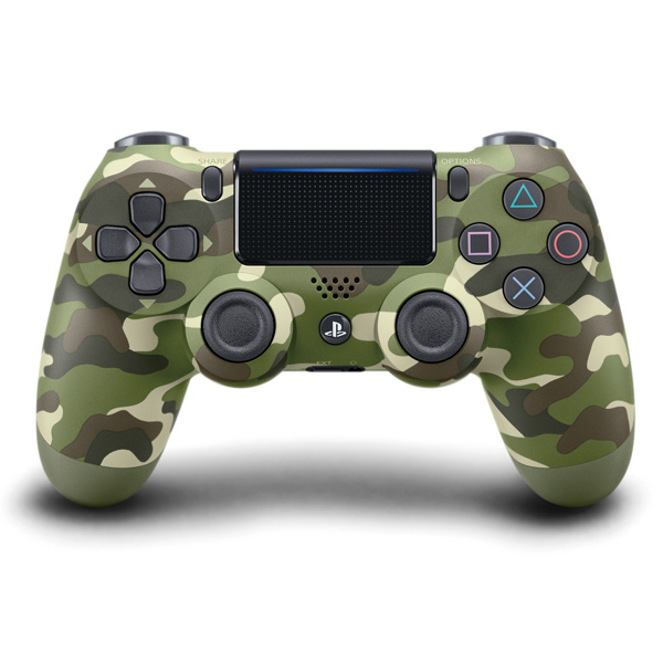 Green Camouflage - Custom PS4 Controllers