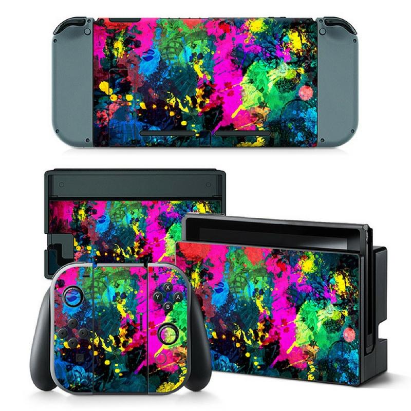 Color Splash - Nintendo Switch Skins
