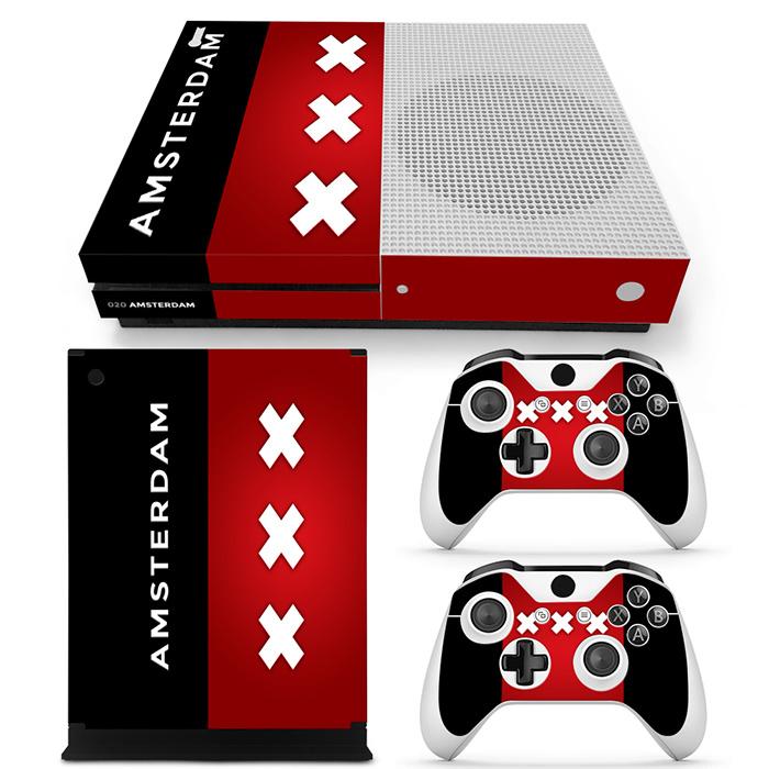 Amsterdam Premium - Xbox One S Console Skins