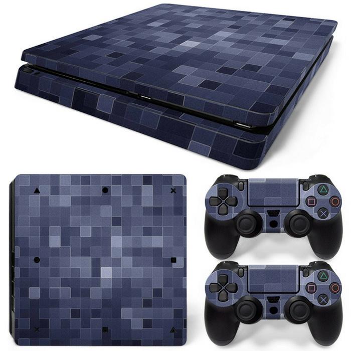 Blocks - PS4 Slim Console Skins