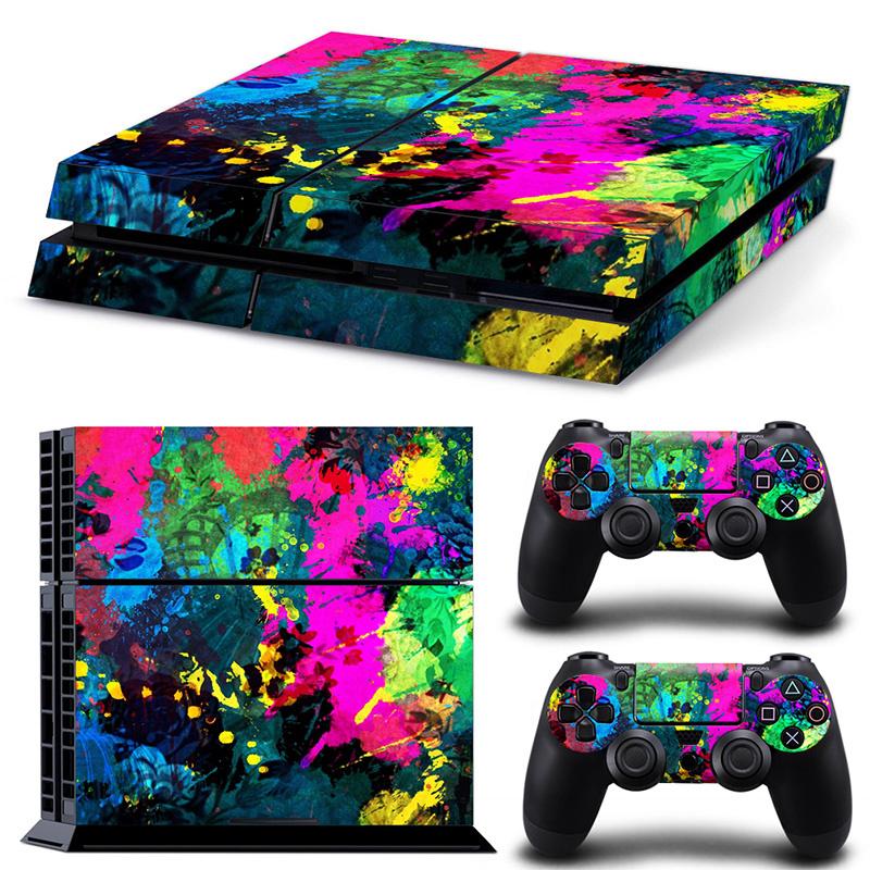 Color Splash - PS4 Console Skins