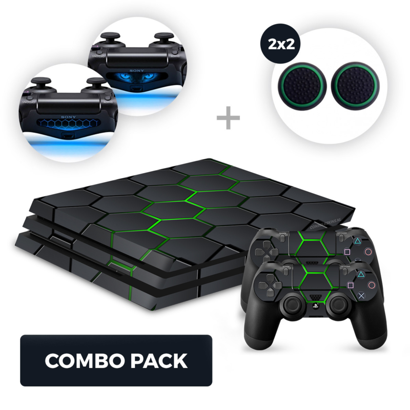 Hex Lime Skins Bundle - PS4 Pro Combo Packs