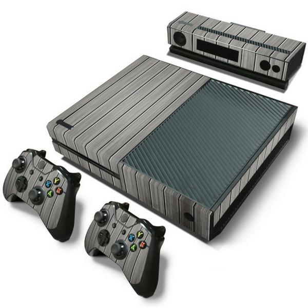 Wood Grey - Xbox One Console Skins