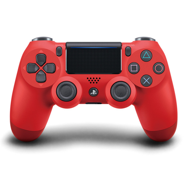 Magma Red Sony Wireless Dualshock PlayStation 4 Controller V2 (rood)