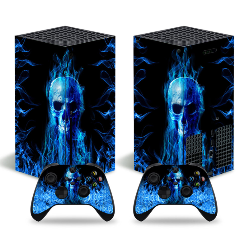 Fire Skull - Xbox Series X Console Skins