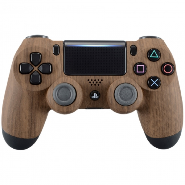 Sony DualShock 4 Controller PS4 V2 - Wood Custom