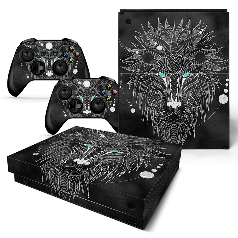 Geometric Lion - Xbox One X Console Skins
