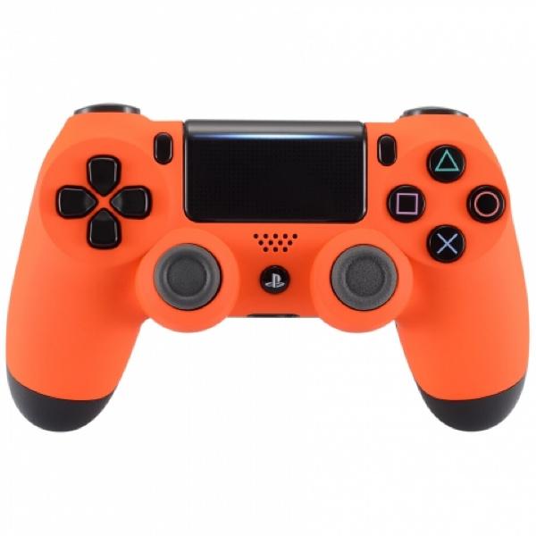 Sony DualShock 4 Controller PS4 V2 - Soft Touch Oranje Custom