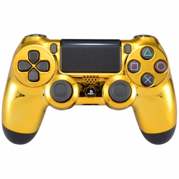 Chrome Goud - Custom PS4 Controllers V2