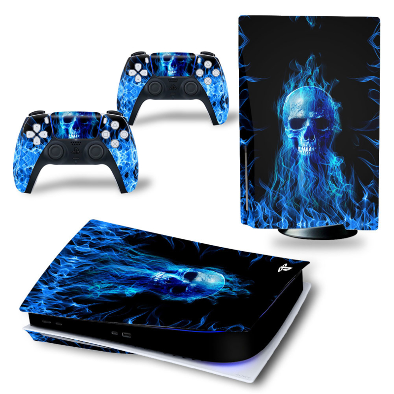 PS5 Console Skins - Fire Skull