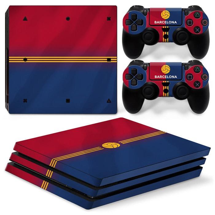 Barcelona Premium - PS4 Pro Console Skins