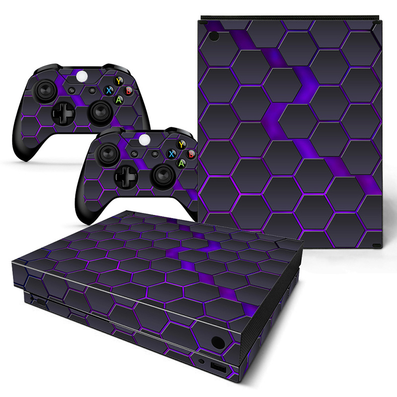 Hex Galaxy - Xbox One X Console Skins