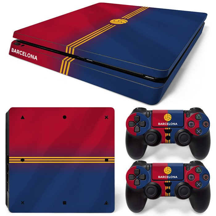 Barcelona Premium - PS4 Slim Console Skins