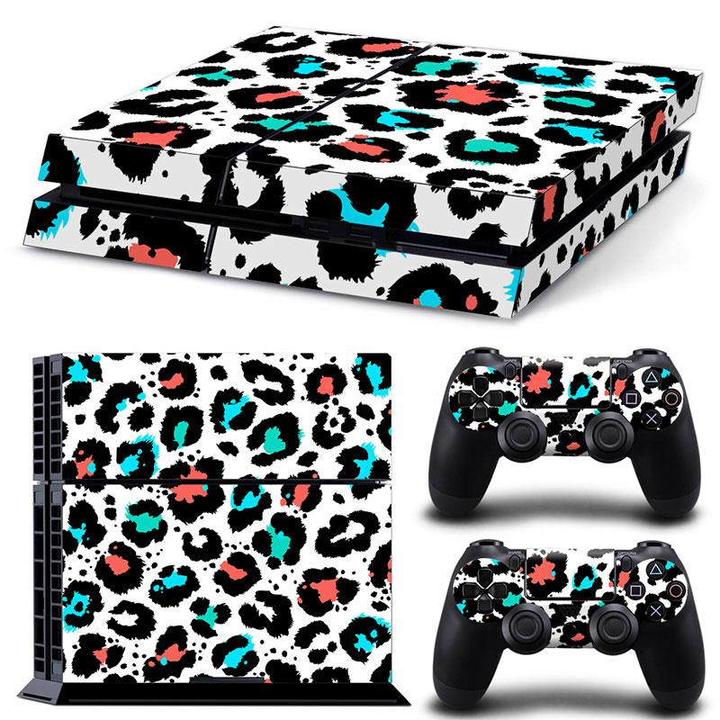 Leopard Print Multi - PS4 Console Skins