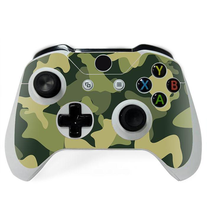 Army Camo Groen Zwart - Xbox One Controller Skins