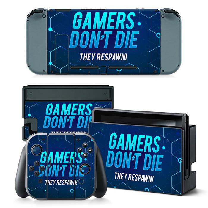 Gamers - Nintendo Switch Skins