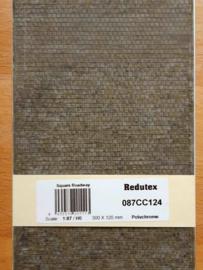 Redutex Nederlands troittoir grijs verweerd 087 CC 124