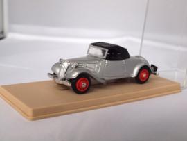 Eligor Citroen AV cabrio zilver 1:43