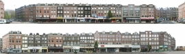 achtergrond N 3   van Hallstraat en Kinkerstraat