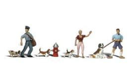 WLS A2768 Honden en baasjes 1:43