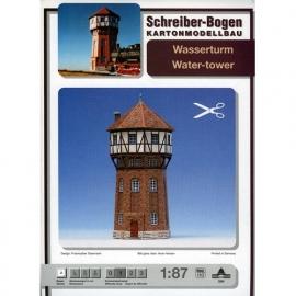 Bouwplaat SB 584   Watertoren