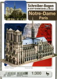 Bouwplaat SB 787   Notre Dame Paris