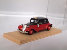 Eligor Citroen AV 15 Taxi rood/zwart 1:43
