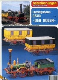 Bouwplaat SB 72215   Der Adler