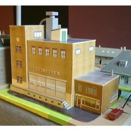 bouwplaat N 440   Bedrijfspand