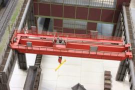 JW 17089 Kraaninstallatie fabriekshal gieterij HO