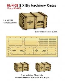 PHL K 02 laadgoed 2 kisten