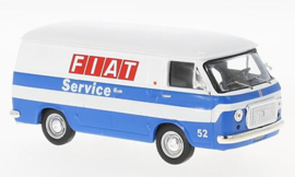 IXO 221125 Fiat 238 Van Fiat Service 1:43