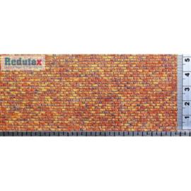 Redutex baksteen donkerrood gemeleerd 048 LV 123