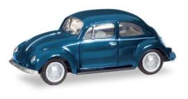 H022361-006 VW Kever, blauw 1:87