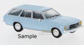 PCX 87 0021 Opel Rekord D blauw 1:87