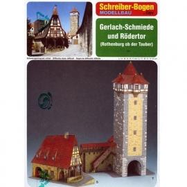 Bouwplaat SB 72455   Smidse Rothenburg