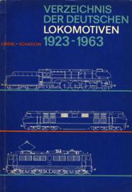 Verzeichnis der Deutschen Lokomotiven 1923-1963