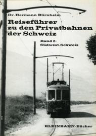 Reisefuhrer zu den Privatbahnen der Schweiz, Band 2
