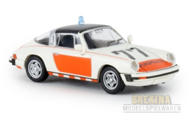 BRE 16359 Porsche 911 G Targa Rijkspolitie 77TD 1:87
