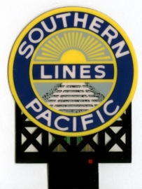 Reclamebord 7072   Southern Pacific HO