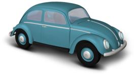 BA 52950 VW Kever blauw 1:87